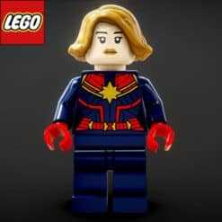 GTA 5 Mods LEGO Captain Marvel