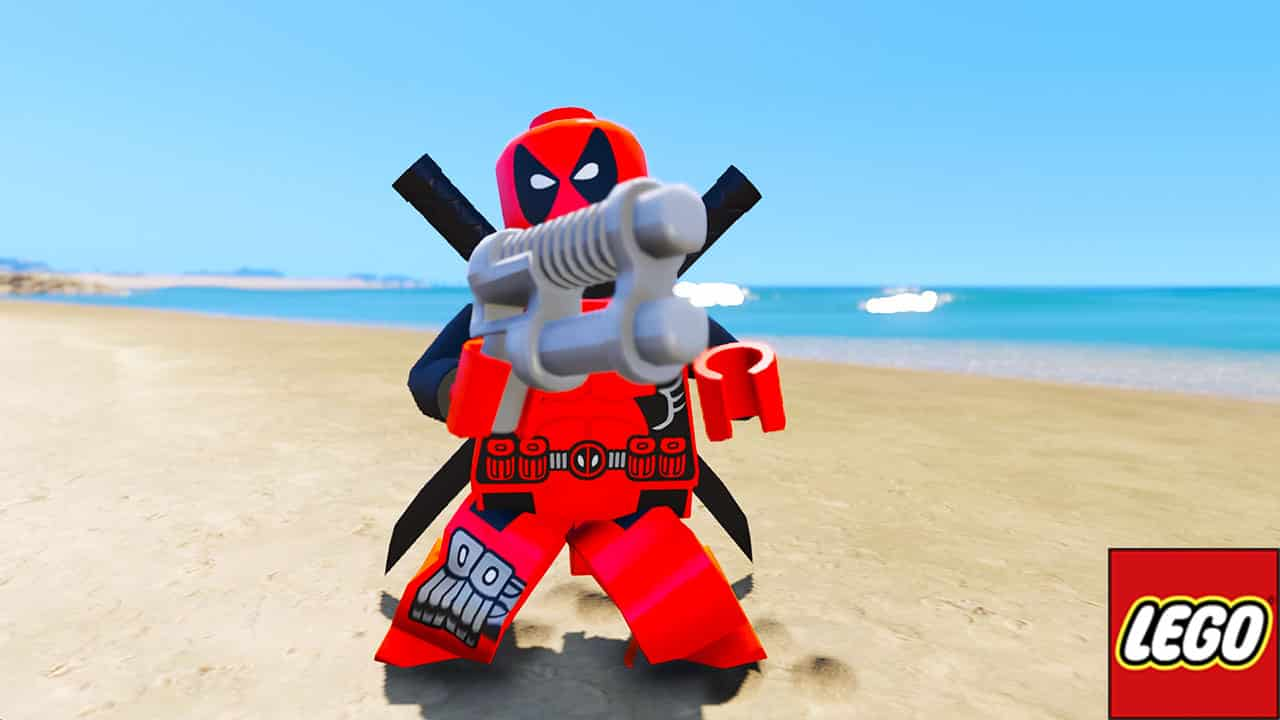 GTA 5 Mods LEGO Deadpool