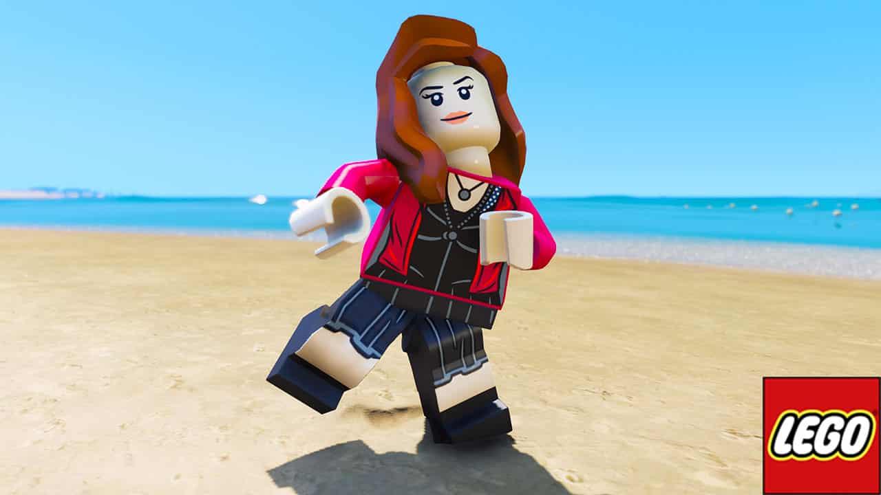 GTA 5 Mods LEGO Scarlet Witch