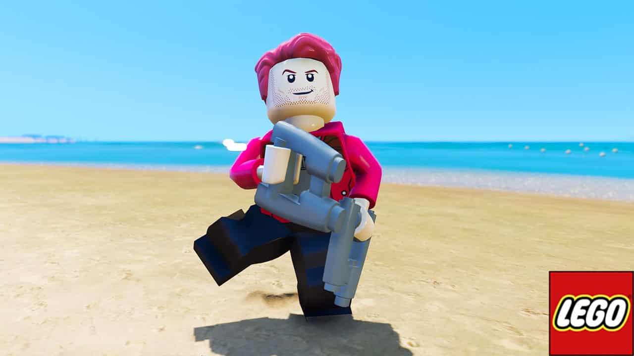 GTA 5 Mods LEGO Star Lord