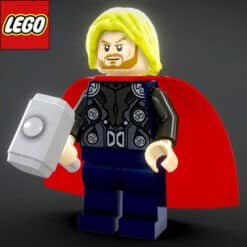 GTA 5 Mods LEGO Thor (Avengers)