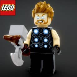 GTA 5 Mods LEGO Thor (Infinity Wars)