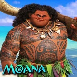 GTA 5 Mods Maui in Moana