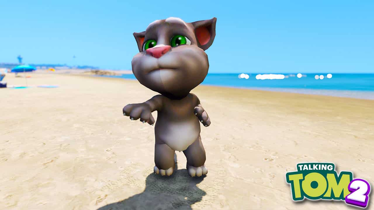 GTA 5 Mods My Talking Tom 2