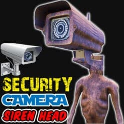 GTA 5 Mods Security Camera Siren Head