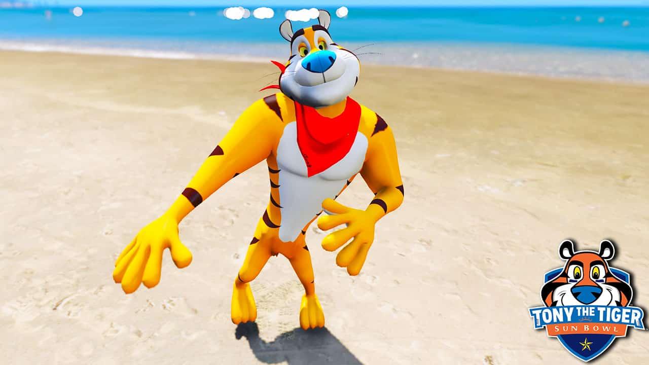 GTA 5 Mods Tony The Tiger
