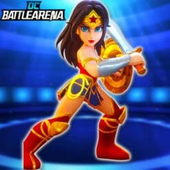 GTA 5 Mods Wonder Woman in DC Battle Arena