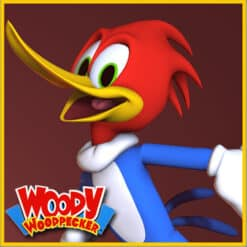 GTA 5 Mods Woody Woodpecker