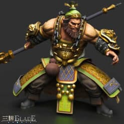GTA 5 Mods Zhang Fei in Three Kingdoms Blade