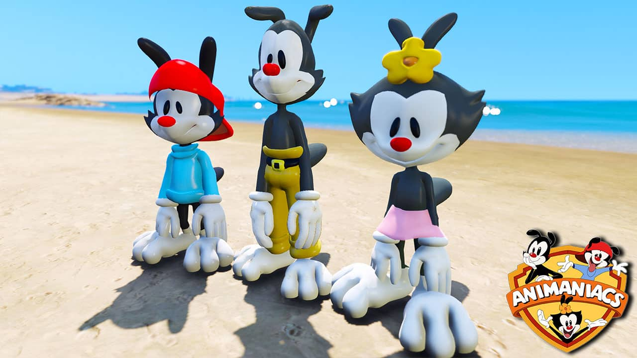 GTA 5 Mods Animaniacs