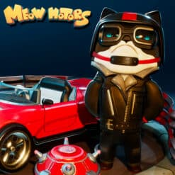 GTA 5 Mods Blake in Meow Motors