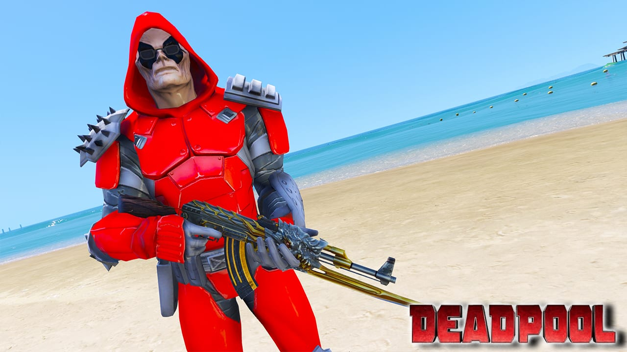 GTA 5 Mods Deadpool BOTA