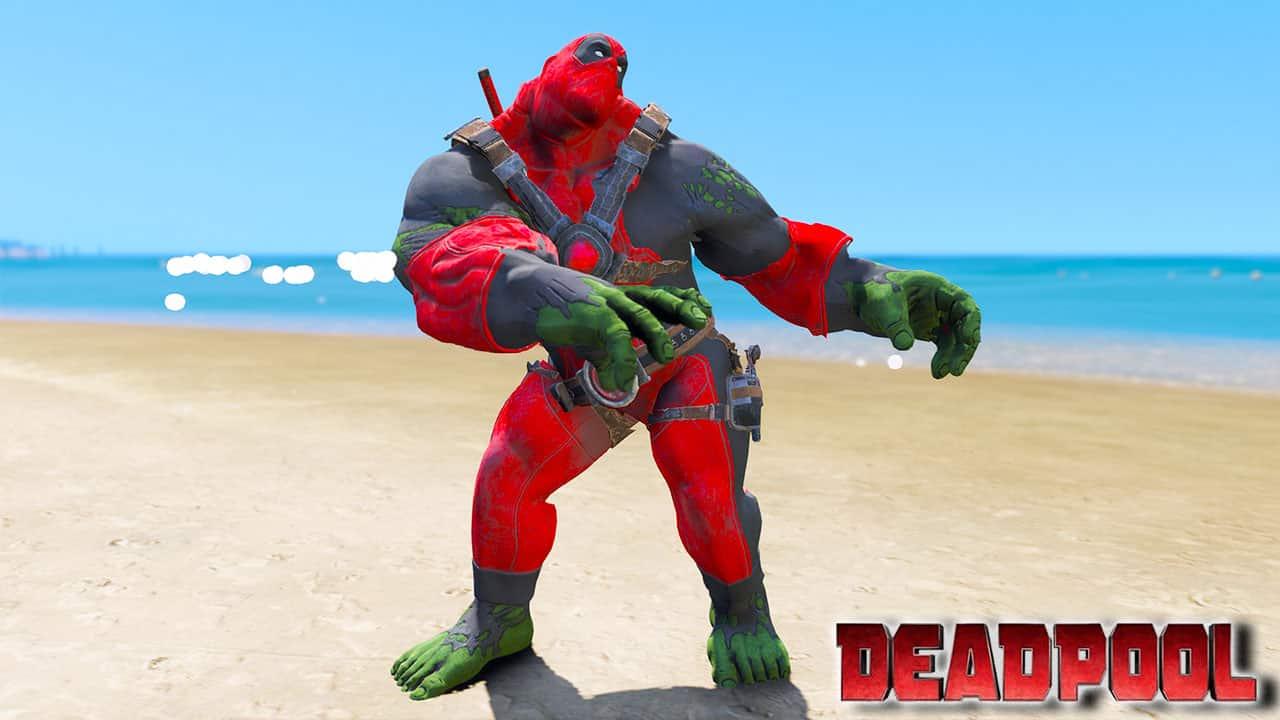 GTA 5 Mods DEADPULK Special Version