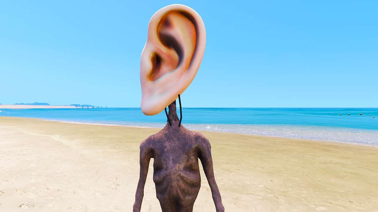 GTA 5 Mods EAR Siren Head