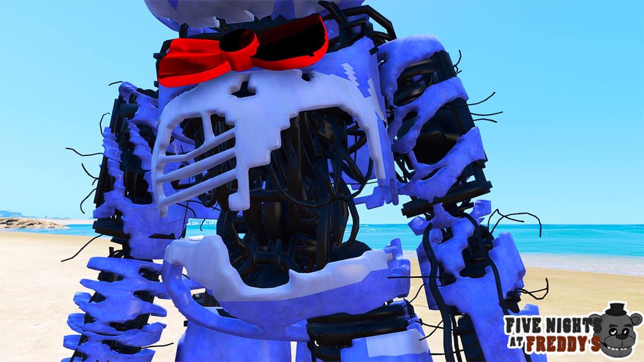 GTA 5 Mods FNAF Corrupted Bonnie