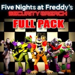 GTA 5 Mods FNAF Security Breach FULL PACK