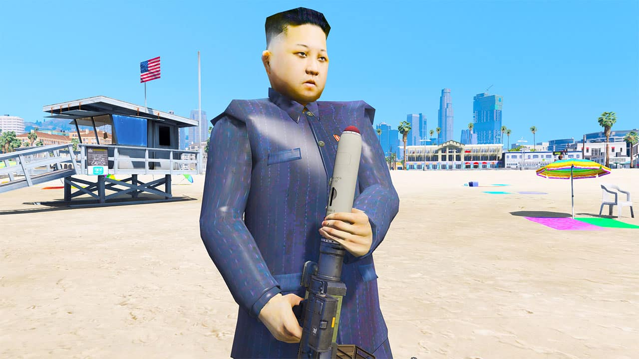 GTA 5 Mods Kim Jong Un