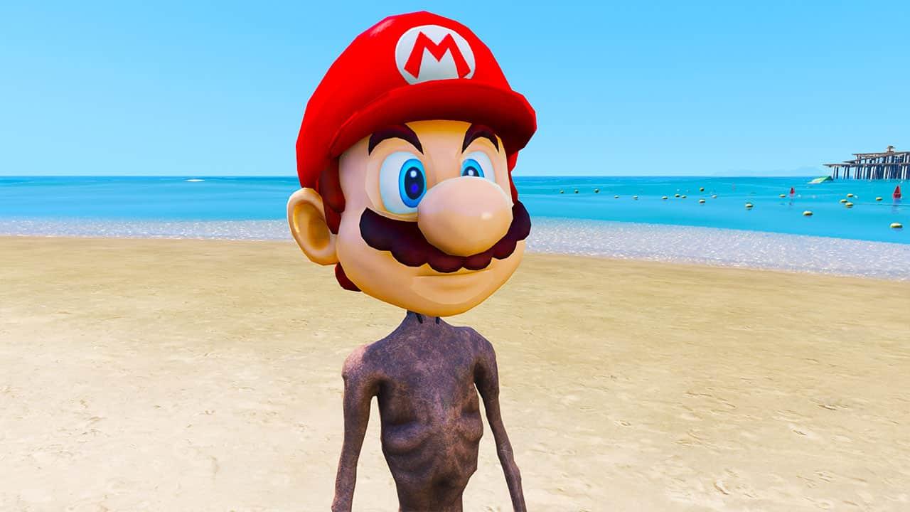 GTA 5 Mods Mario Siren Head