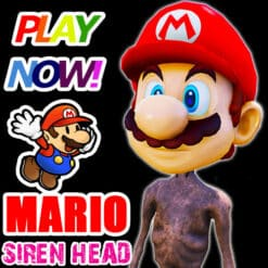 GTA 5 Mods Mario Siren Head