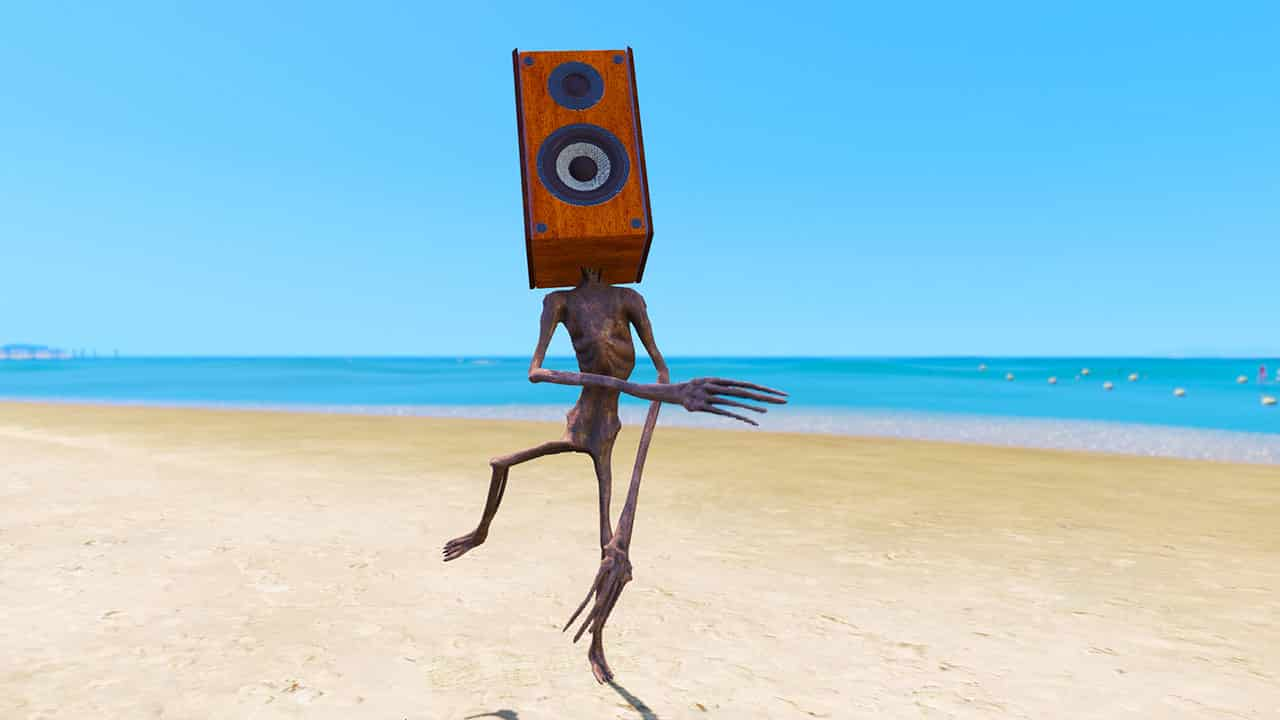 GTA 5 Mods Speaker Siren Head