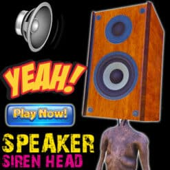 GTA 5 Mods Speaker Siren Head