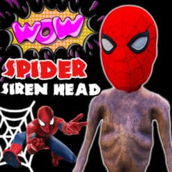 GTA 5 Mods Spider Siren Head