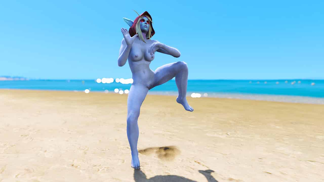GTA 5 Mods Sylvanas Windrunner