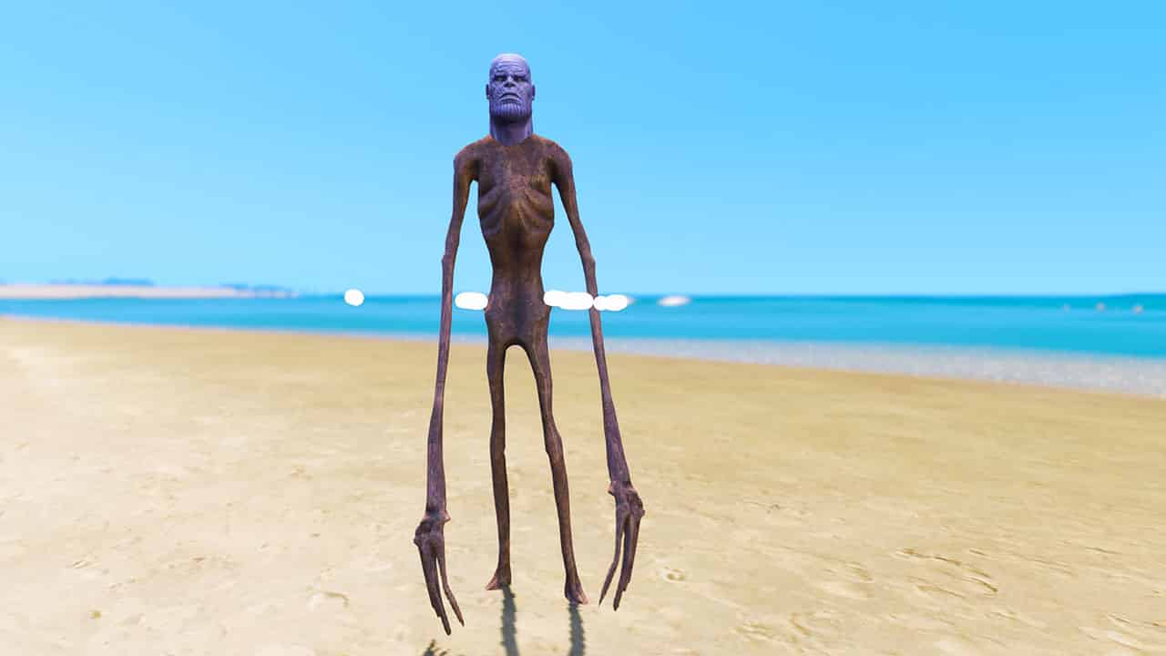 GTA 5 Mods Thanos Siren Head