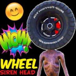GTA 5 Mods Wheel Siren Head