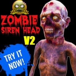 GTA 5 Mods Zombie Siren Head V2